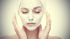 woman face mask sleep
